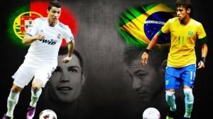 El clásico Brasil vrs Portugal