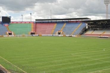 El Estadio Nacional  luce impecable
