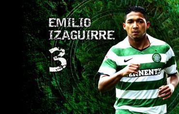 El Milan contra el Celtic de Emilio Izaguirre