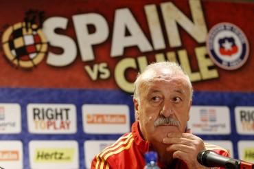 """Del Bosque denuncia """"influencias muy fuertes"""" sobre Valdés"""