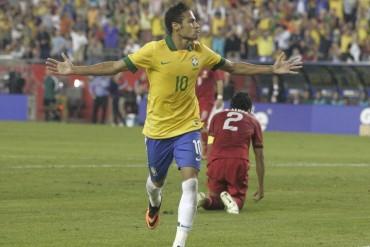 Neymar brilla en la victoria de Brasil frente a Portugal