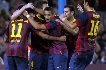 El Barça ganó a un Sevilla que luchó hasta el final