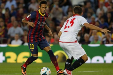 Neymar desequilibra y Messi decide