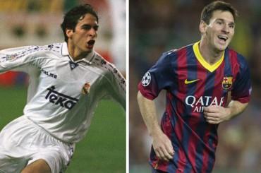 El crack blaugrana Messi iguala la marca de Raúl
