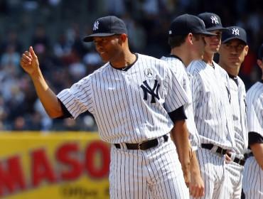 Mariano Rivera se despidió de los Yankees