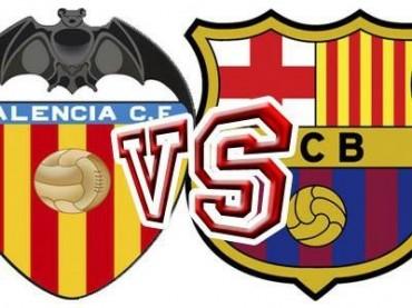 Mestalla será esta noche el punto de encuentro entre Valencia y Barcelona