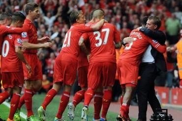 El Liverpool se impone al Manchester United con gol tempranero