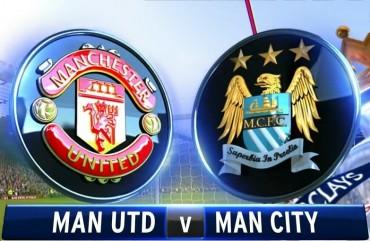 El derbi inglés se juega mañana entre Man. United y Man. City