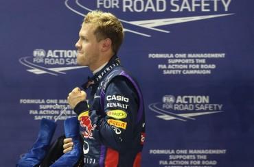 'Pole' para Vettel y Alonso saldrá séptimo, por detrás incluso de Massa
