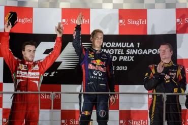 Vettel vuelve a ganar y Alonso logra un gran segundo puesto