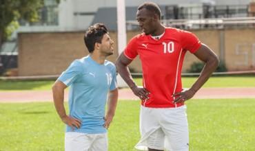 """Agüero: """"Bolt no es bueno para el City; tal vez en el United…"""""""