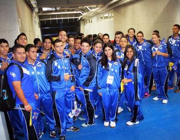 Inauguración de los XIV Juegos Deportivos Universitarios de Centroamérica