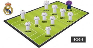 El mejor once del Madrid para esta temporada