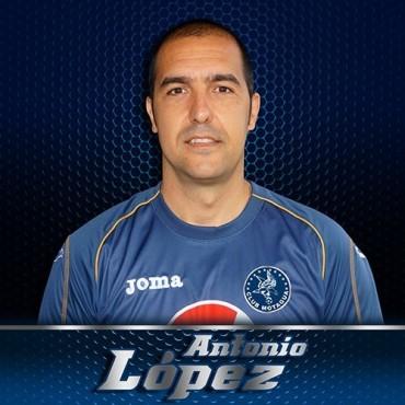 Antonio López separado de la institución azul
