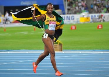 Jamaica exculpa de su positivo a la velocista Verónica Campbell