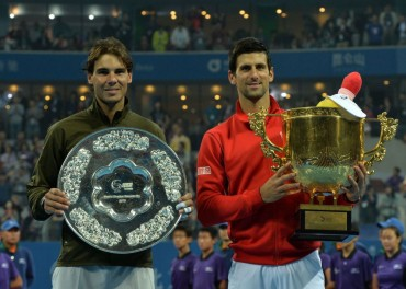 Novak Djokovic le gana la final de Pekin a Nadal