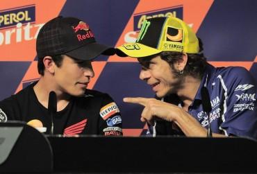 "Rossi: ""Envidio mucho a Márquez por vivir este precioso momento"""
