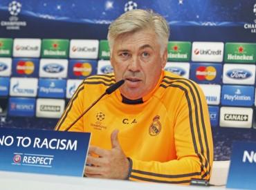 """Ancelotti: """"¿Cambiar de puesto a Cristiano? No estoy loco"""""""