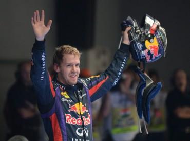 """Vettel: """"Es el mejor día de mi vida, no sé qué decir"""""""