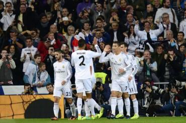 El Real Madrid golea al Sevilla 7-3