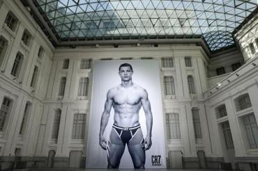 Cristiano Ronaldo, ha presentado su propia línea de ropa interior