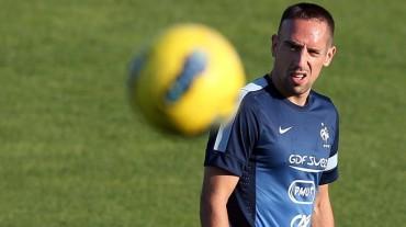 """Ribery: """"Sería una catástrofe no clasificar al Mundial"""""""