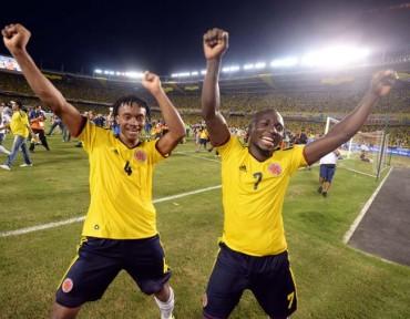 Colombia se clasifica al Brasil 2014, Chile y Ecuador a un paso