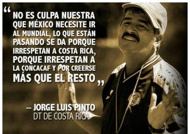 Pinto pide respeto para Costa Rica