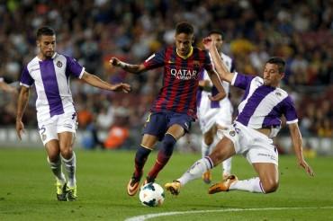 El Camp Nou goza con Neymar