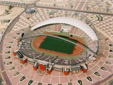 Así luce el estadio Sheikh Khalifa International