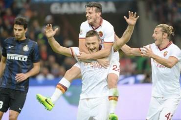 La Roma refrenda su liderato en el campo del Inter (0-3)