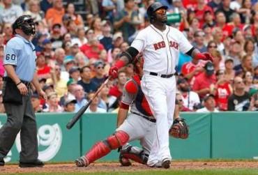 David Ortiz guía el triunfo de Red Sox 6-5 ante Tigers