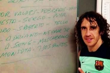 Carles Puyol recibe el alta médica y podría volver ante Osasuna