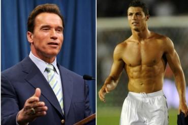 "Arnold Schwarzenegger: ""Cristiano tiene un físico fantástico"""