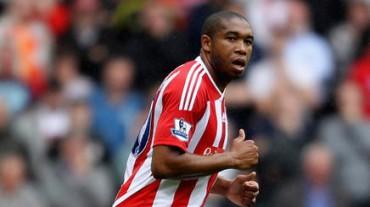 Wilson Palacios entró de cambio en empate de Stoke City