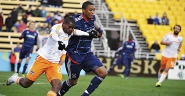 Boniek García jugo los 90 minutos con el Dynamo Houston
