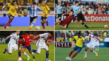 Dos se van directo a Brasil en Eliminatoria Sudamérica