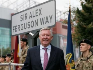 Manchester bautizó una de sus calles en honor a Ferguson