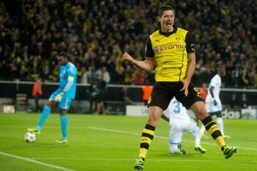 El Dortmund golea al Olympique
