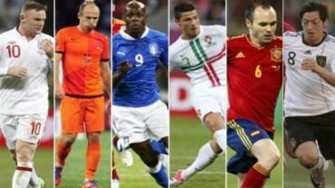 Cuatro selecciones europeas obtendrán hoy su billete para Brasil-2014
