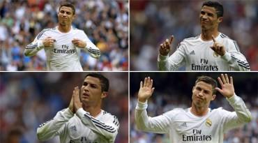 Cristiano pidió perdón al Bernabéu