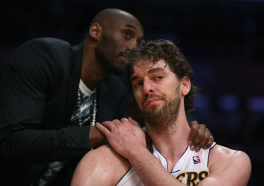 Kobe Bryant vuelve a entrenarse