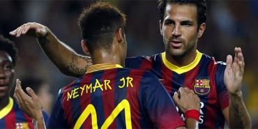 Neymar y Cesc son decisivos cuando no está Messi
