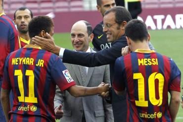 Se cumplen 100 días del debut del Neymar con el Barça