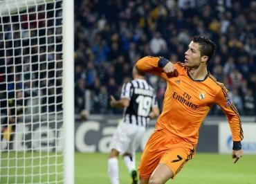 Cristiano, favorito para ser el pichichi de Champions y de Liga