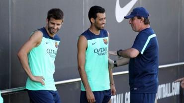 Piqué y Busquets descartados ante el Sevilla