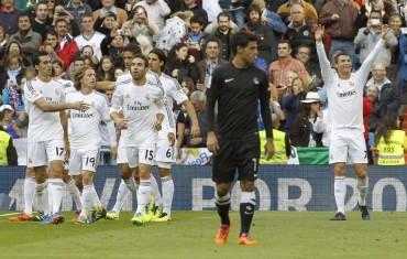 Cristiano y Real Madrid hacen trizas a la Real Sociedad