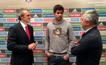 Diego Costa no jugará con España por lesión
