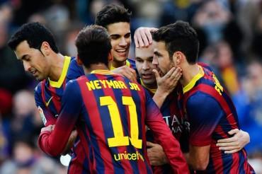 El Barça ganó fácil al Granada 4-0