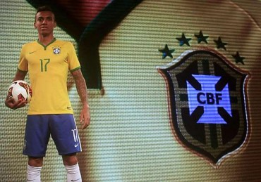 Así es la camiseta de Brasil para el Mundial